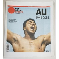 Remembering Muhammad Ali 1942-2016 USA Today Sports Special Edition Tribute