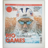 Rio Olympic Games USA Today Sports Special Edition