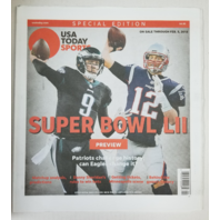Tom Brady Nick Foles USA Today Sports Special Edition Super Bowl LII