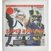 Tom Brady Aaron Donald USA Today Sports Special Edition Super Bowl LIII