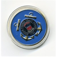 US Coast Guard USCG Commander CDR Challenge Coin 1.5""