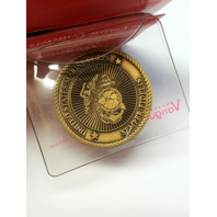 "Vanguard Coin USMC Marine Corps Rank CORPORAL 1.5"" w/ Sleeve"