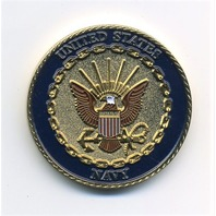 """US Navy USN Chief Warrant Officer Challenge Coin 1.5"""""""