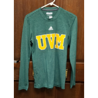 Adidas Aeroknit University Of Vermont UVM Catamounts L/S Shirt Men's Size S