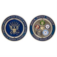 Vanguard COIN: NAVY PROUD MILITARY FAMILY 2""