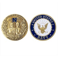 Vanguard Navy COIN: ANCHORS AWEIGH CENTENNIAL 2""