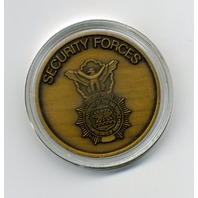 Vanguard USAF Air Force Security Forces Defenders of the Force Challenge Coin