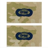 Vanguard SPACE FORCE EMBROIDERED BADGE: BASIC INTELLIGENCE - EMBROIDERED ON OCP