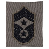 Vanguard AIR FORCE EMBROIDERED RANK COMMAND CHIEF MASTER SERGEANT ABU GORTEX
