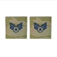 Vanguard SPACE FORCE EMBROIDERED RANK: SENIOR AIRMAN - OCP WITH HOOK