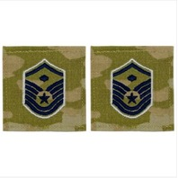 Vanguard SPACE FORCE EMBROIDERED RANK MASTER SERGEANT WITH DIAMOND OCP WITH HOOK