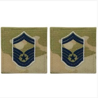 Vanguard SPACE FORCE EMBROIDERED RANK: SENIOR MASTER SERGEANT - OCP WITH HOOK