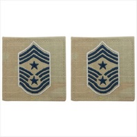 Vanguard SPACE FORCE EMBROIDERED RANK: COMMAND CHIEF MASTER SERGEANT OCP W/ HOOK