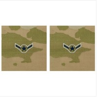 Vanguard SPACE FORCE EMBROIDERED RANK: AIRMAN - OCP SEW ON