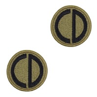 Vanguard ARMY PATCH 85TH US ARMY RESERVE SUPPORT COMMAND EMBROIDERED ON OCP pair