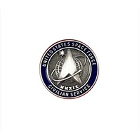Vanguard SPACE FORCE LAPEL PIN: US SPACE FORCE CIVILIAN SERVICE
