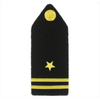 Vanguard NAVY ROTC MIDSHIPMAN HARD BOARD: FEMALE JUNIOR LIEUTENANT