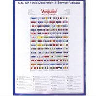 Vanguard POSTER: AIR FORCE RIBBONS