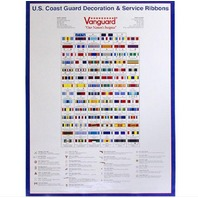 Vanguard POSTER: COAST GUARD RIBBONS