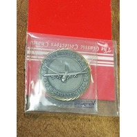 Vanguard USAF Ramstein Air Base Cross Into The Blue Challenge Coin 1-3/4""
