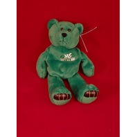 Limited Treasures Vinny Testaverde #16 Green Beanie Plush Bear #4115 NY Jets
