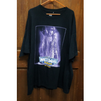 Wrestlemania XXVII 27 4/3/2011 T-Shirt Undertaker vs Triple H Size 3X XXXL