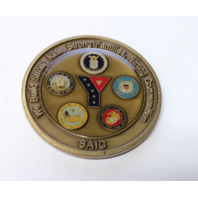 Armed Services YMCA Of The USA Challenge Coin 2""