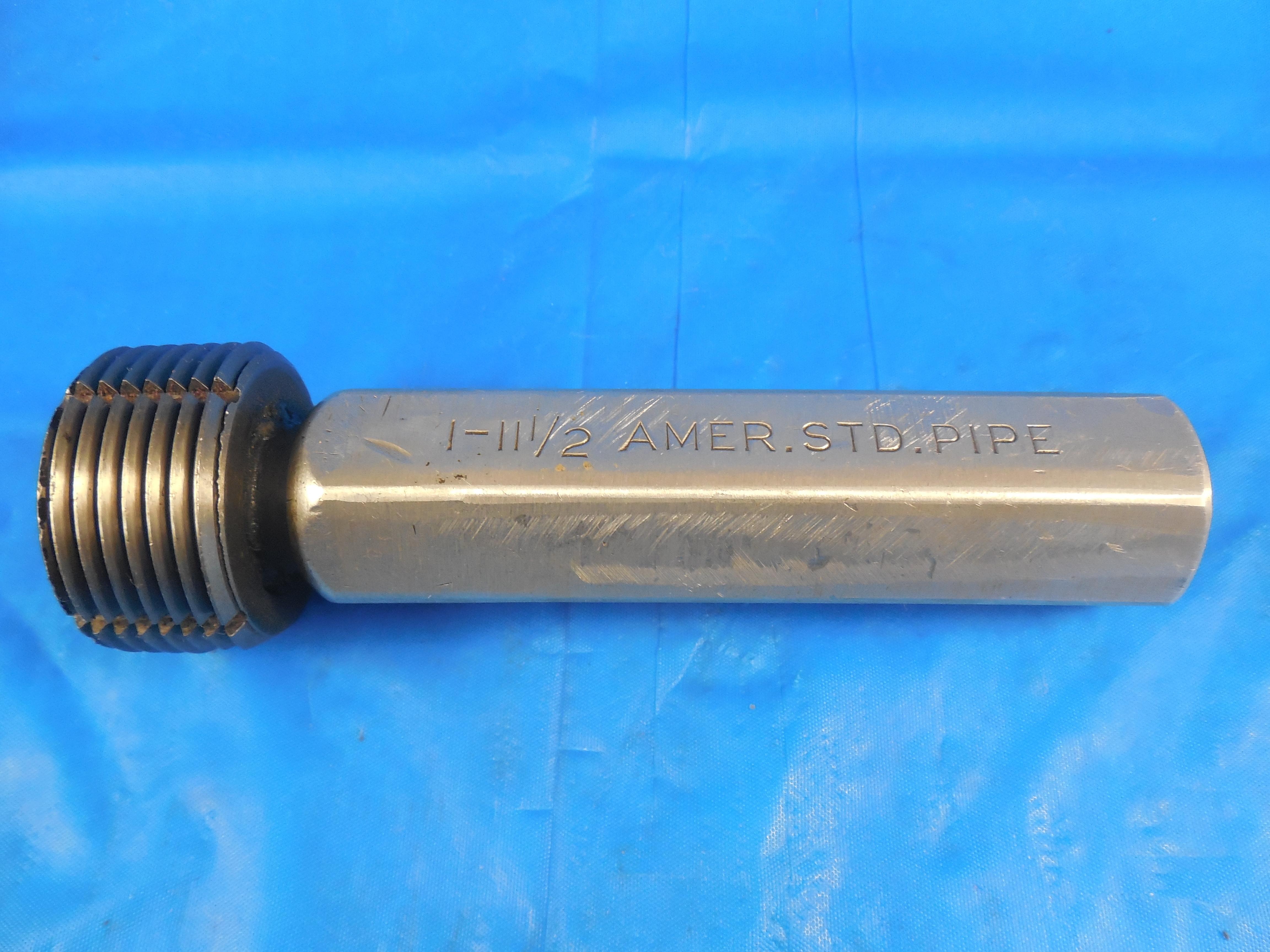 """A NPT Pipe STD Pratt Whitney Thread Plug Gage 1.0/""""-11-1//2 AM"""