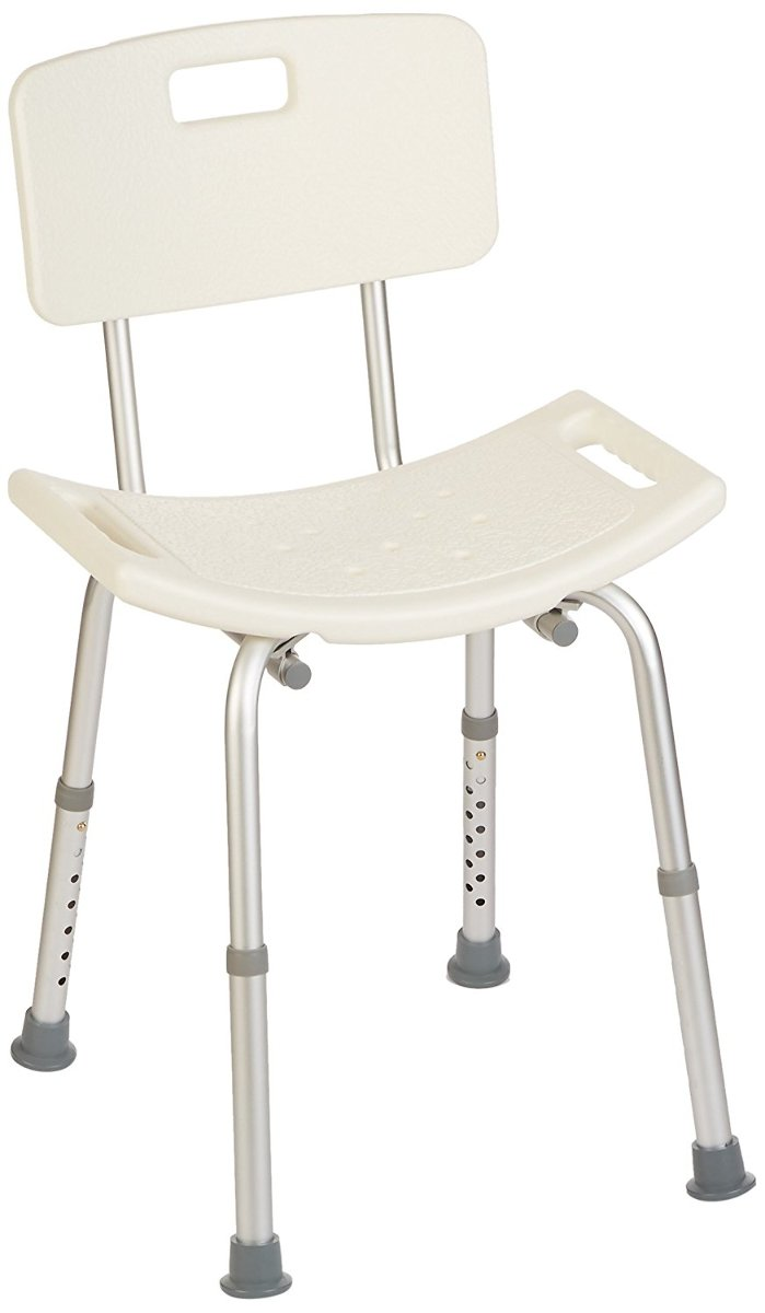 Homecraft Shower Chair W Seat Removable Back Adjustable Legs Box Damage
