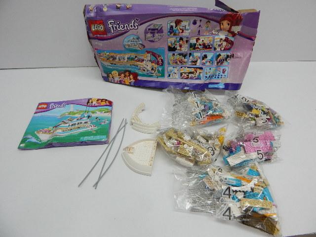 LEGO 41015 Friends Dolphin Cruiser Building Set INCOMPLETE SET