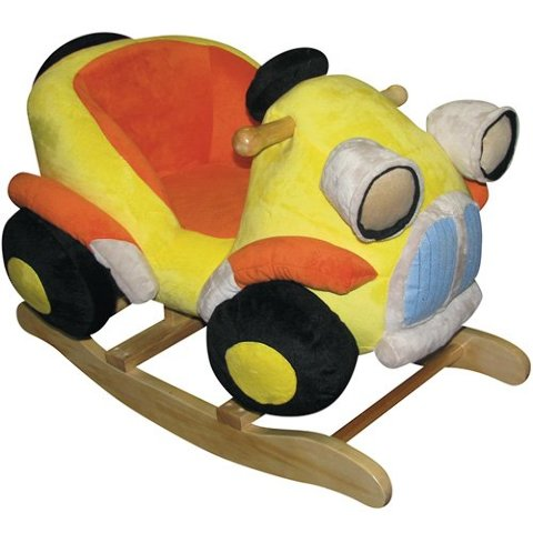 Charm Company 82444 Car Rocker Ride On, Yellow BOX DAMAGE