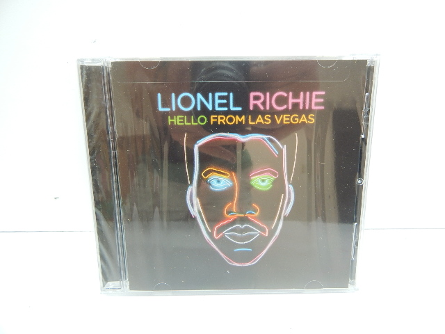 Lionel Richie Hello Live From Las Vegas Audio CD