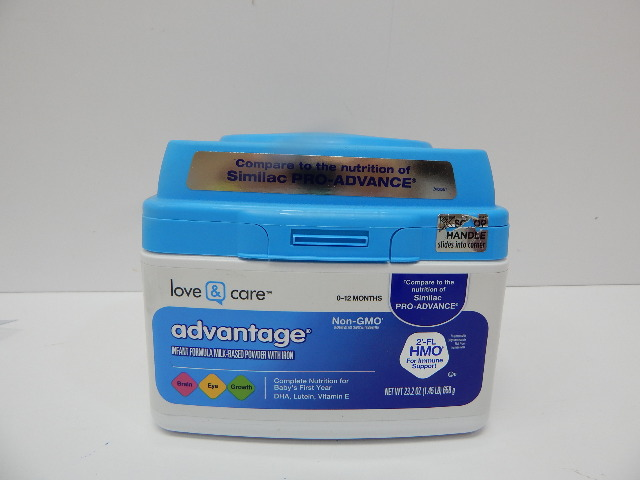 Love & Care Advantage Infant Formula Milk-based Powder With Iron Non-gmo, 23.2oz