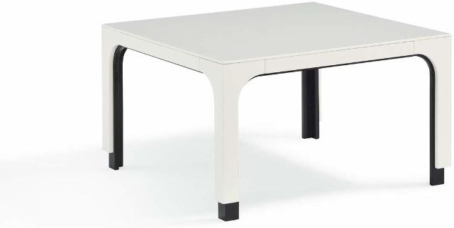 Now House by Jonathan Adler 28270 Otto Cocktail Table, White BOX DAMAGE