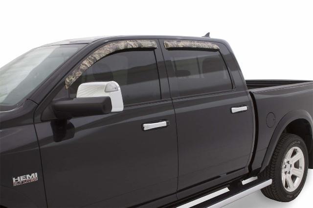 Stampede 6253-9 4pc Window Deflector for 09-10 Dodge Ram Truck, Mossy Oak