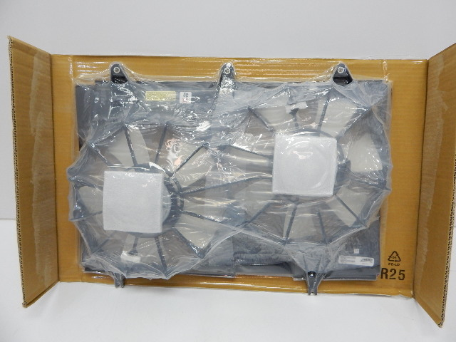Platinum GM3120106 Dual Radiator & Condenser Fan Assembly 04-07 CADILLAC CTS