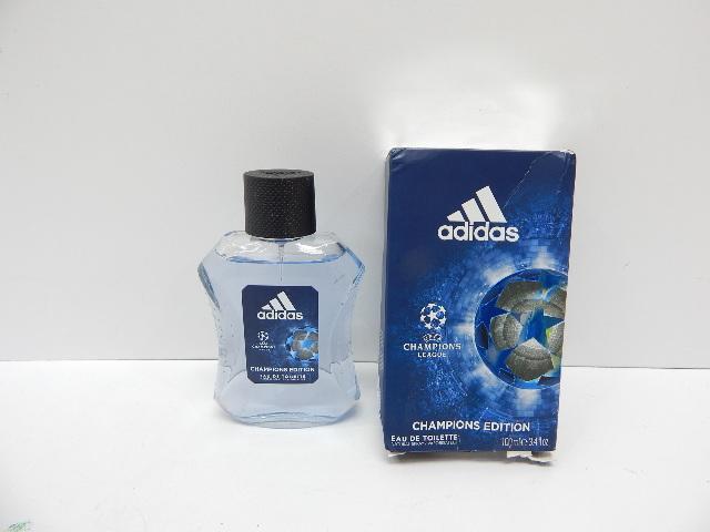 Adidas UEFA Champions League Edition Eau de Toilette Spray for Men, 3.4oz BOX DM