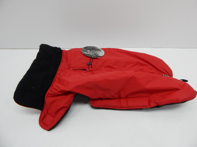 """Petmate Wouapy 90070 Raincoat for Dogs, Eco Red, Large 14-16"""""""