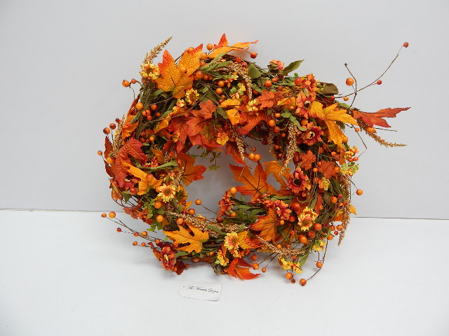 "The Wreath Depot TWD-5059 Bainbridge Fall Door 22"" Wreath"