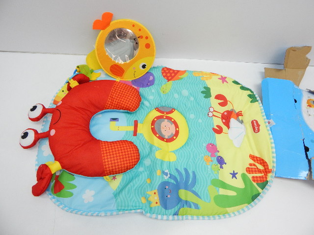 Tiny Love 33312036 Tummy Time Under The Sea Playmat NO ORIGINAL BOX