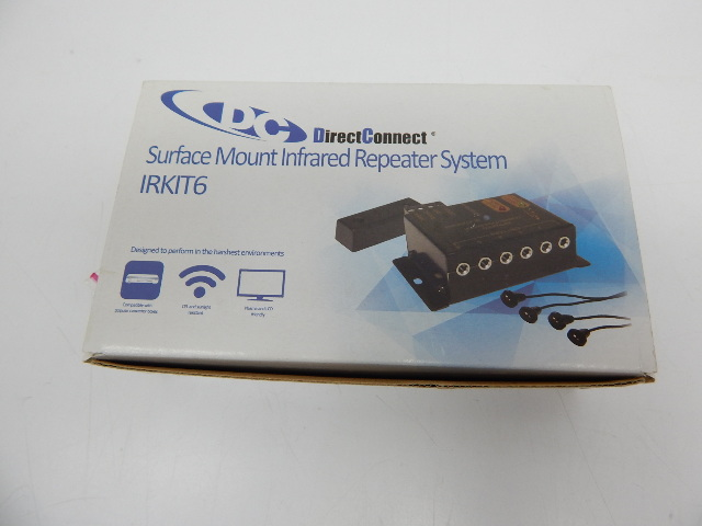 Direct Connect IRKIT6 Surface Mount Infrared Repeater IR Remote System