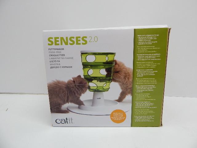 Catit Design 43151 Senses 2.0 Food Tree – Interactive Cat Toy