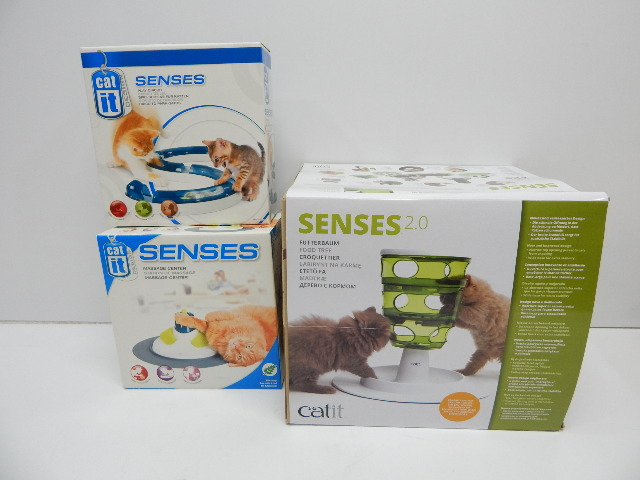 Catit Design 50720P Senses Play Circuit, Value Bundle Interactive Cat Toy