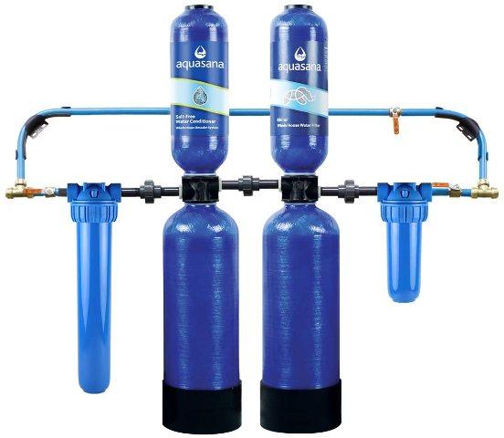 Aquasana EQ-1000 Whole House Water Filter System w/ Salt-Free Conditioner
