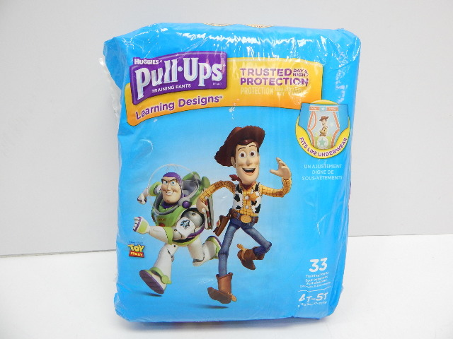 Pull-Ups Learning Designs Potty Training Pants for Boys, 4T-5T (38-50lbs) 33 ct