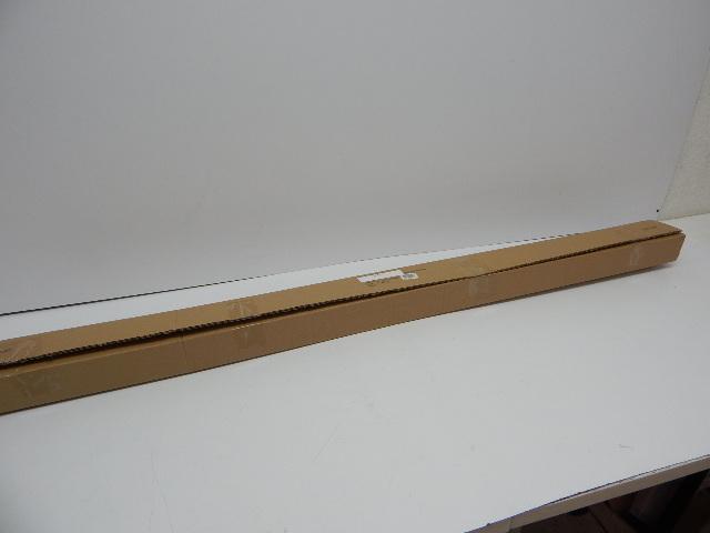 "Pinnacle Optima 144-240"" Double Curtain Rod Set, Brushed Pewter End Cap"