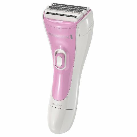 Remington WDF-4821 Smooth & Silky 3 Blade Cordless Electric Shaver for Women