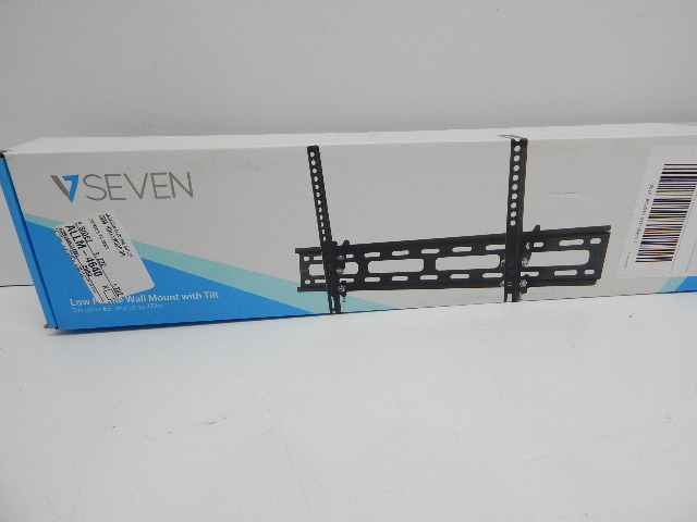 """V7 WM2T77-2N Low Profile Wall Mount with Tilt - Fits Television TV from 32""""-65"""""""