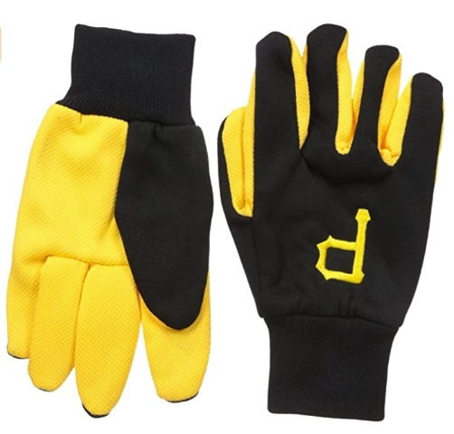 FOCO MLB Pittsburgh Pirates Colored Palm Utility Gloves