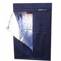 "Infinite Leafs 79""x 51""x 27"" Reflective 600D Mylar Hydroponic Grow Tent BOX DMG"